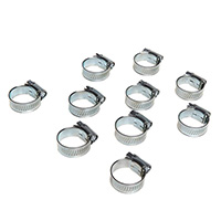 Euro Car Parts Hose Clips OX 17-25mm Qty10