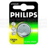 Philips CR2016 Lithium Mini Cell