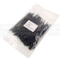 Autoport 100 X 2.5mm Cable Tie Black Qty 100
