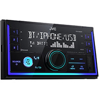 JVC JVC KW-X830BT Double Din Mechless Radio Player with  Built-in Bluetooth