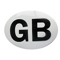 Oval GB Magnetic Plate