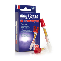 AlcoSense Breathalyser Twin Pack (not NF approved)