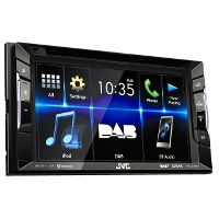 JVC KW-V235DBT Car Stereo CD DVD Player MP3 USB Bluetooth