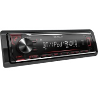 Kenwood KMM-BT204 Car Stereo Mechless MP3 AUX USB Bluetooth