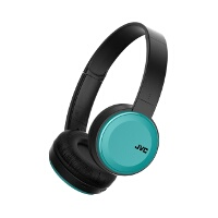 JVC Foldable Bluetooth On Ear Headphones Blue
