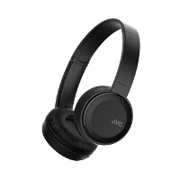 JVC Foldable Bluetooth On Ear Headphones Black