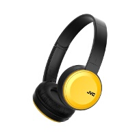 JVC Foldable Bluetooth On Ear headphones Yellow