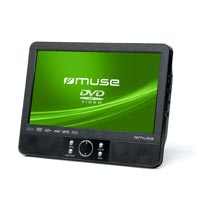 "Muse 9"" TFT LCD Twin Display Dual Screen Car Video Player."