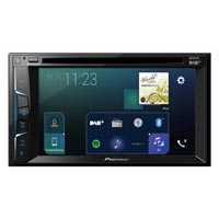 "Pioneer 2 DIN AV DVD Player with 6.2"" Touch Screen, DAB+  Tuner, AppRadio Mode, CarPlay,"