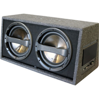 "Phoenix Gold Z Series 12"" Ported Dual Sub Enclosure"