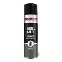 Simoniz Steel Wheel Spray Paint 500ml