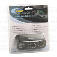 Ring Triple Multisocket with Battery Analyser