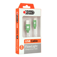 Object Flowlight USB Cable Green