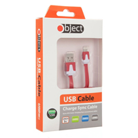 Object 3M Iphone 5 Cable Red