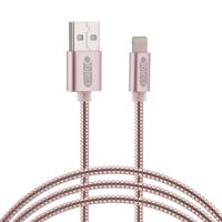 Object Metallic Iphone Lightning Cable Rose Gold