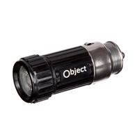 Object Rechargable Car Adaptor Light (Black)