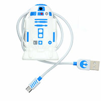 Star Wars Cable Tidies- R2D2 (USB)