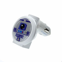 Star Wars Dual Port Car Charger- R2D2
