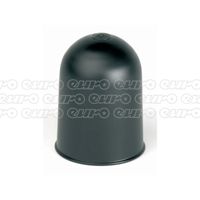 Ring Tow Ball Cover (Plastic) Black