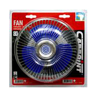"Carpoint 12 Volt Car Interior 6"" (150mm) Oscillating Cooling Fan with Screw Fixing"