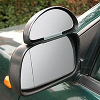 Carpoint Auxiliary Blind Spot Mirror - Large (13.5 x 5 cm)