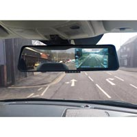 Streetwize Rear View Mirror & Dash Cam Combo