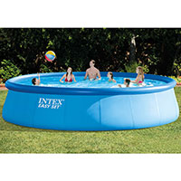 Intex Easyset Swimming Pool (Round) - 5.49 mtr + Starter Pack