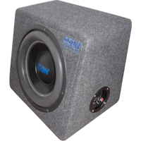 AUTOSTYLE 12 inch Subwooferbox - 800 Real Watt