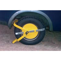 Streetwize Wheel Clamp - Full Face - Yellow