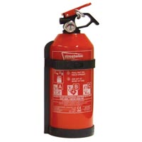 Streetwize Fire Extinguishers  (EN3/CE62 Standard) - 1 kg Dry Powder ABC+ Gauge