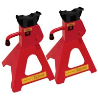 Streetwize 2 Tonne USA Style Axle Stand Sets (GS Tuv)