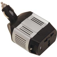 Streetwize 75 watt Inverter with USB