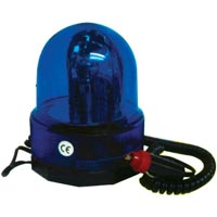 Streetwize 12v Blue Rotating Beacon (Off Road Use)
