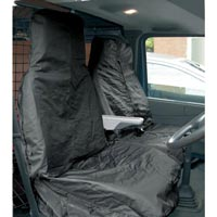 Streetwize Water Resistant Van [Single Seat + Twin Cab Seat] Seat Protectors in Black