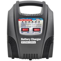 Streetwize 10amp Automatic Battery Charger with LEDs