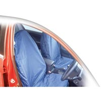 Streetwize Pair Universal Nylon Seat Covers - Blue