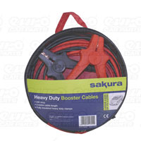 Sakura Booster Cables 400amp Heavy Duty 3m cable