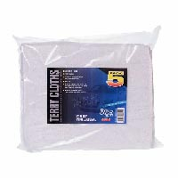 Trade Quality Cotton General Purpose Terry Toweling Cleaning Cloths