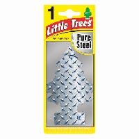 Little Trees Car Air Freshener Pure Steel