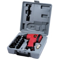 Am-Tech Air Impact Wrench Set 17pc