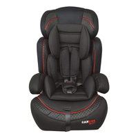 Car Child Seatblack Red Group 1/2/3
