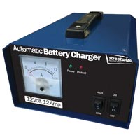 Streetwize 12V 12 Amp Battery Charger