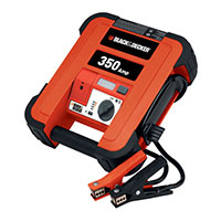 Black & Decker Instant Start Booster Pack - 350amp with light