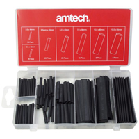 Am-Tech Heat Shrink Wire Wrap Assortment (127 Pieces )