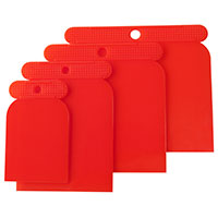 Am-Tech 4pc Plastic Scraper Set