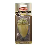 Carplan Milkshake Carded Air Freshener - Vanilla