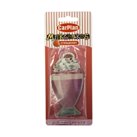 Carplan Milkshake Carded Air Freshener - Strawberry