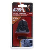 Star Wars 3D Vent Clip Darth Vader Air Freshener - Black Ice