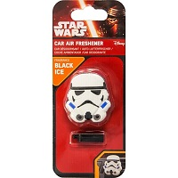 Star Wars 3D Vent Clip Clone Trooper Air Freshener - Black Ice