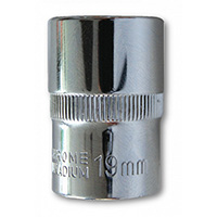 Super Lock Socket 1/2 Drive 19mm